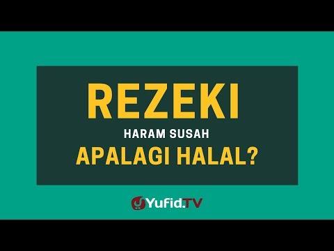 Rezeki Haram Susah Apalagi Halal