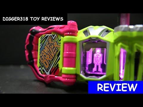 Kamen Rider Ex Aid DX Game Driver Henshin Belt Review