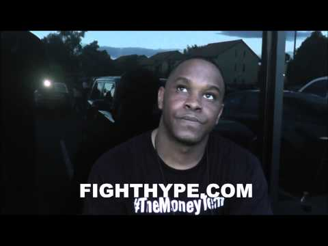 DEJUAN BLAKE SAYS FLOYD MAYWEATHER IS READY NOW FOR MARCOS MAIDANA LOOKING LIKE A MILLION BUCKS