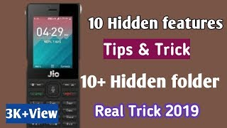 Jio Phone me Hidden features/Jio Phone New' Hidden features/Hidden apps & Folder