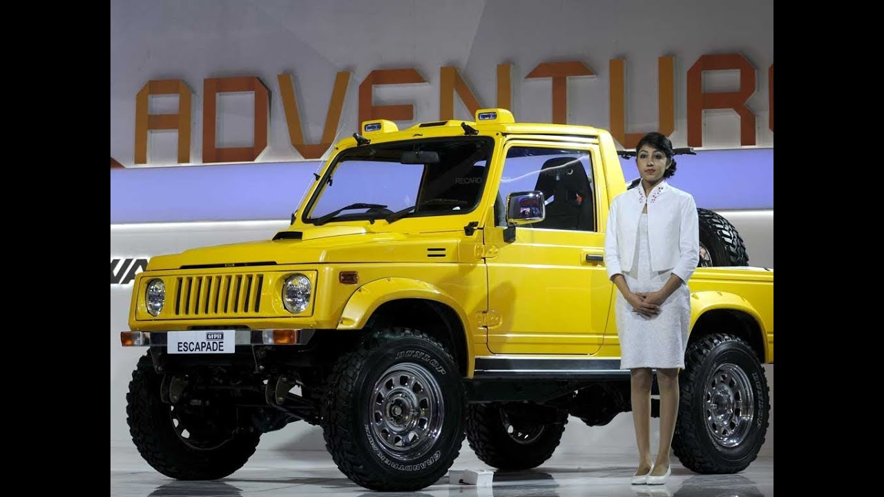 Maruti Gypsy Escapade Delhi Auto Expo 2014 Take A Look