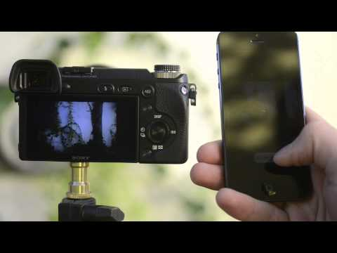 Sony NEX-6 Review Wi-Fi and Apps