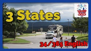 50in365 - Day 34 of 365 - Escaping the Hurricane - Full Time RVing w/4 Kids