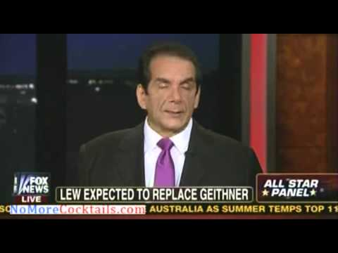 Krauthammer: Obama is picking Jack Lew to defend the entitlement state