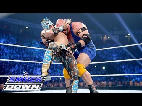Ryback vs. Kalisto – WWE World Heavyweight Championship Tournament: SmackDown, Nov. 12, 2015