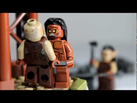 Lego Lord of the Rings The Orc Forge Review 9476
