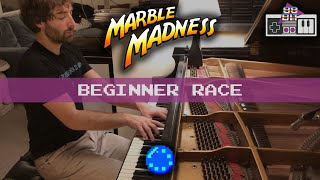 Marble Madness - Beginner Race Theme (piano)