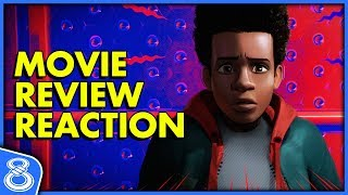 Spider-Man Into the Spider-Verse Movie Review Reaction!