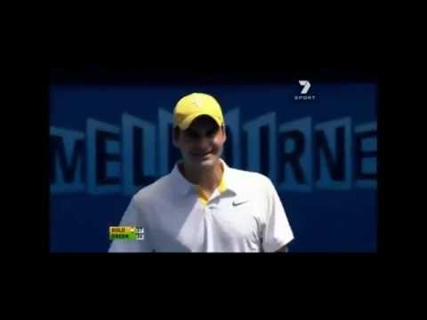 Funny Moments In Tennis. Federer Funny Moments In Tennis.