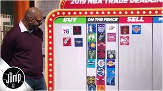 2019 NBA trade deadline big board: Who should be buyers or sellers? | The Jump