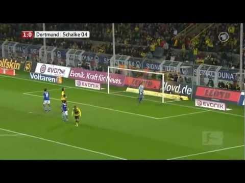 Borussia Dortmund - Schalke 04 (2-0) Highlights Sportschau 26.11.11