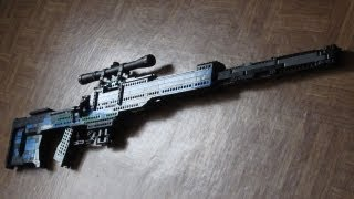Lego sniper rifle (+instructions)