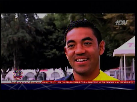 Reportaje de Chapis con Marco Fabián en Zona Chiva de TDN el 5 Marzo de 2013