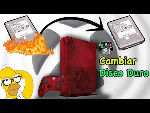 Cambio y Aumento De Disco Duro Xbox One S Instalación Paso a Paso Actualización | JxR