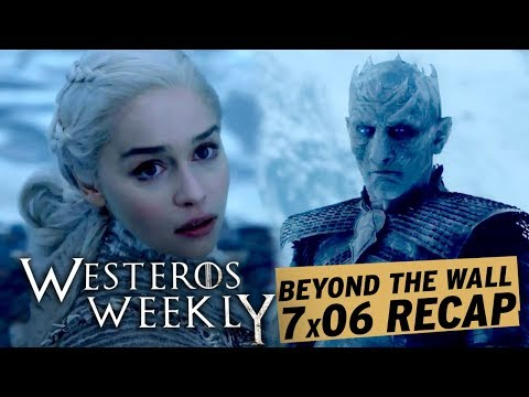 Game Of Thrones 7x06 Beyond Wall Daenerys Viserion And Night