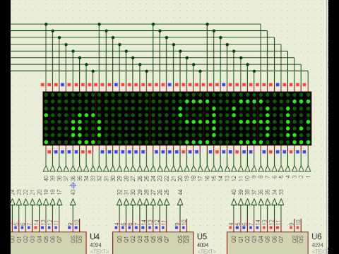 a matrices con led: