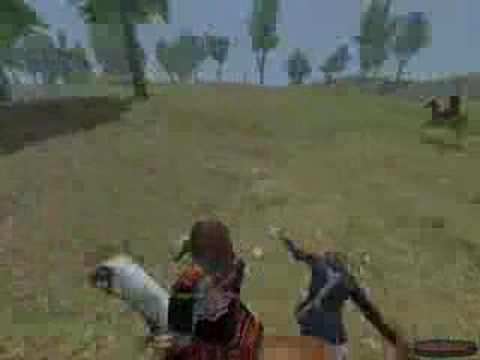 Mount and Blade - Onin no Ran - Caravan Raiding