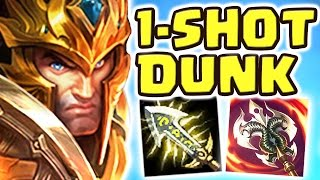 RIOT NIGHTBLUE3 ?! LITERALLY 1v9 FULL AD CRIT JARVAN JUNGLE | THE 1-SHOT DUNK | LOOK AT THIS DUDE