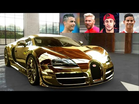 Top 10 Football Players Super Cars ★ 2017