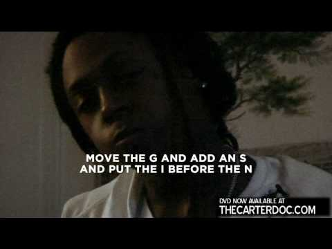 Lil Wayne performs song to the camera for his documentary