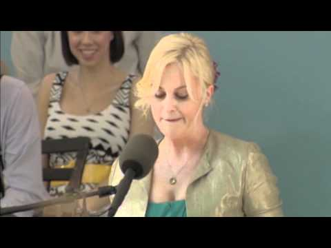 Amy Poehler at Harvard College Class Day (long version)