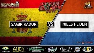 Morocco 9 Ball Open 2017 - Samir Kadur vs Niels Feijen (FULL HD)