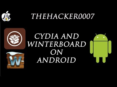How to Install Cydia & Winterboard on Android!