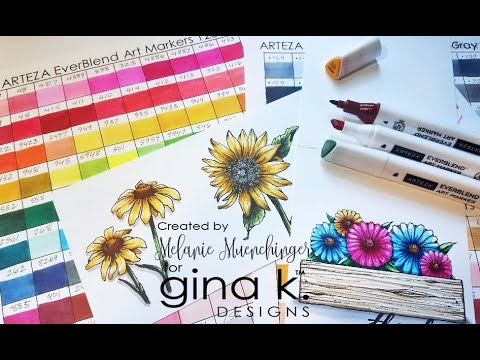 Coloring with Arteza Alcohol Markers: Review and Tips!