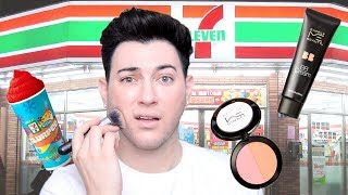 FULL FACE USING 7-ELEVEN MAKEUP!