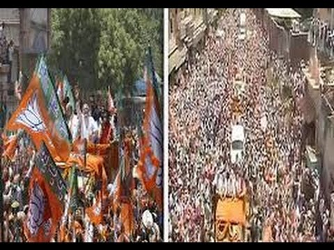 Exclusive: Narendra Modi's world largest roadshow in Varanasi