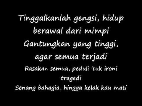 Hidup Berawal Dari Mimpi ~Bondan Prakoso (Lyric)