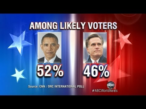 Obama Pulls Ahead of Romney in New Poll
