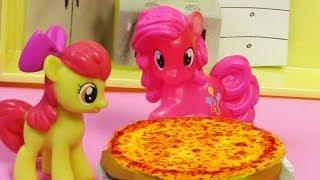Pinkie Pie Pizza Pie - My Little Pony Apple Bloom MLP Toy Baking Cooking Series Blind Bag