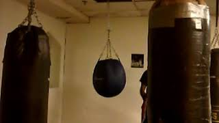 Uppercut Bag at the Gym
