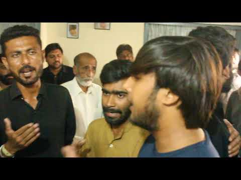 15 muharram 2018 from bhugwal gujrat at syed ali raza shah house