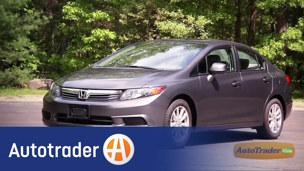 2012 Honda Civic - Sedan | New Car Review | AutoTrader.com - YouTube