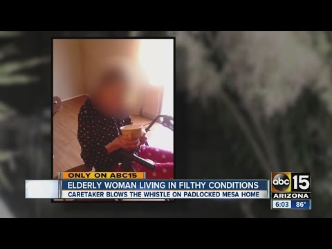 Woman found padlocked in filthy home by deputies