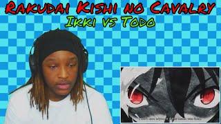 OMFG! MAGICIANS!? Rakudai Kishi no Cavalry   Ikki vs Todo   Final Fight   REACTION