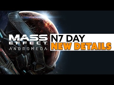 Mass Effect: Andromeda NEW N7 DAY DETAILS - The Know Game News