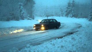 E30 snow drift
