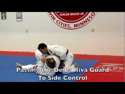 Brazilian Jiu Jitsu Video: Passing the De la Riva Guard to Side Control with Rodrigo Sul Image 1