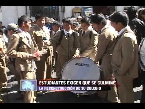 Tvmundo Arequipa: Escolares Tomaron Colegio