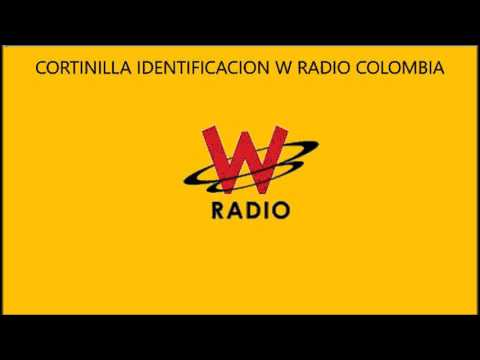CORTINILLA IDENTIFICACION W RADIO COLOMBIA