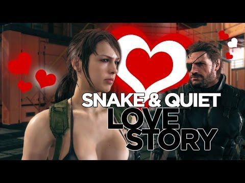 SNAKE & QUIET: THE LOVE STORY | Metal Gear Solid V The Phantom Pain Montage
