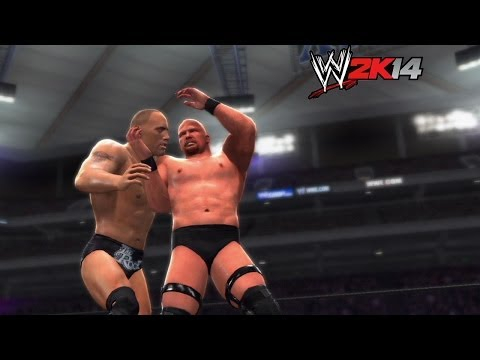 wwe 2k14 How-to: stone Cold Steve Austin Vs. The Rock At Wrestlemania 19 video