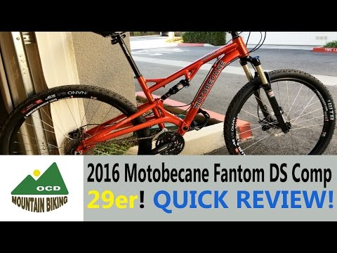 Best bang-for-the-buck MTB, 2016 Motobecane Fantom DS Comp 29er!