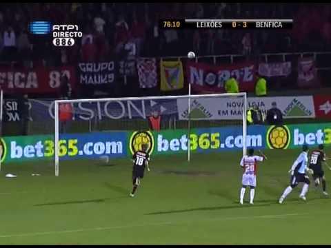Leixões - Benfica (0-4) , Hat-trick Di Maria