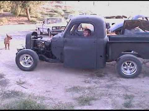 Ratrod truck Steve.Live on the edge! - YouTube
