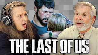 ELDERS PLAY THE LAST OF US (Elders React: Gaming)