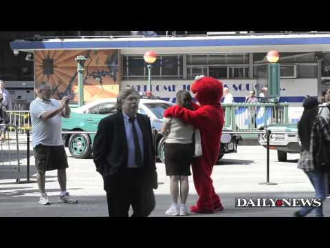 Daily News reporter goes undercover as Elmo in Times Square